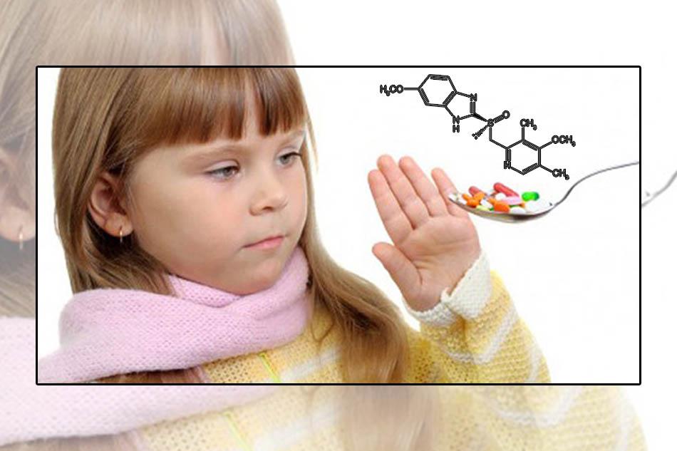 Trẻ em không nên sử dụng Esomeprazole