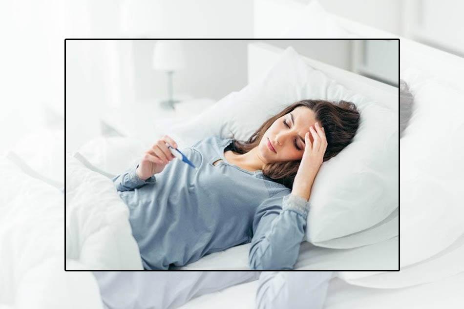 Sốt lá một triệu chứng của bệnh viêm phế quản