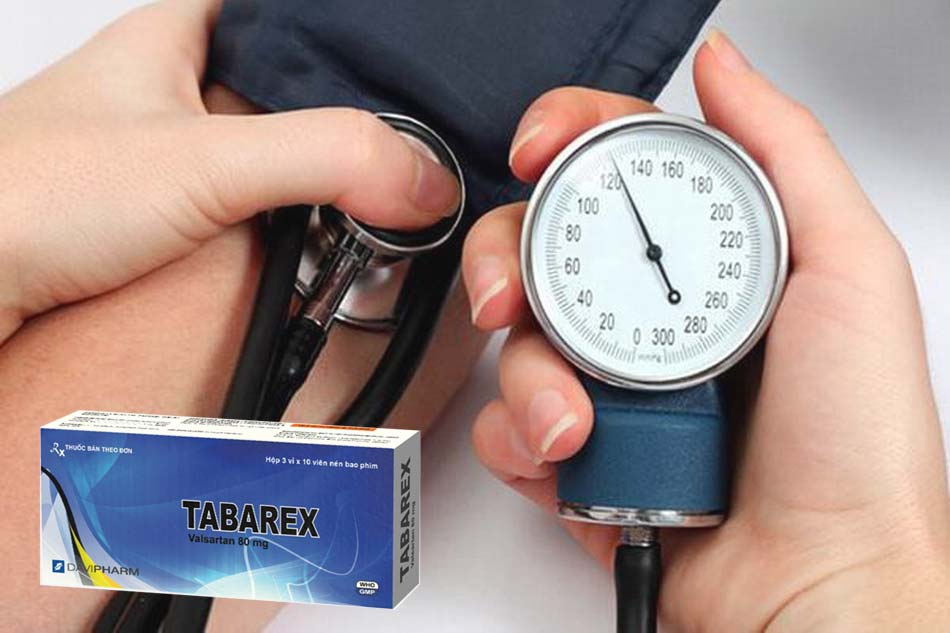 Công dụng của thuốc TABAREX Valsartan 80mg