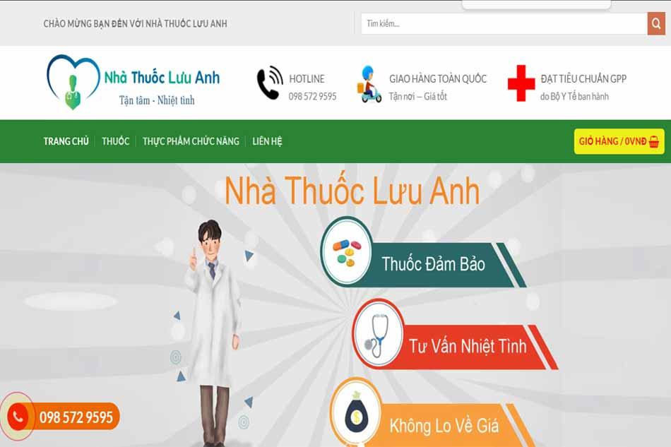 Nhà thuốc Lưu Anh