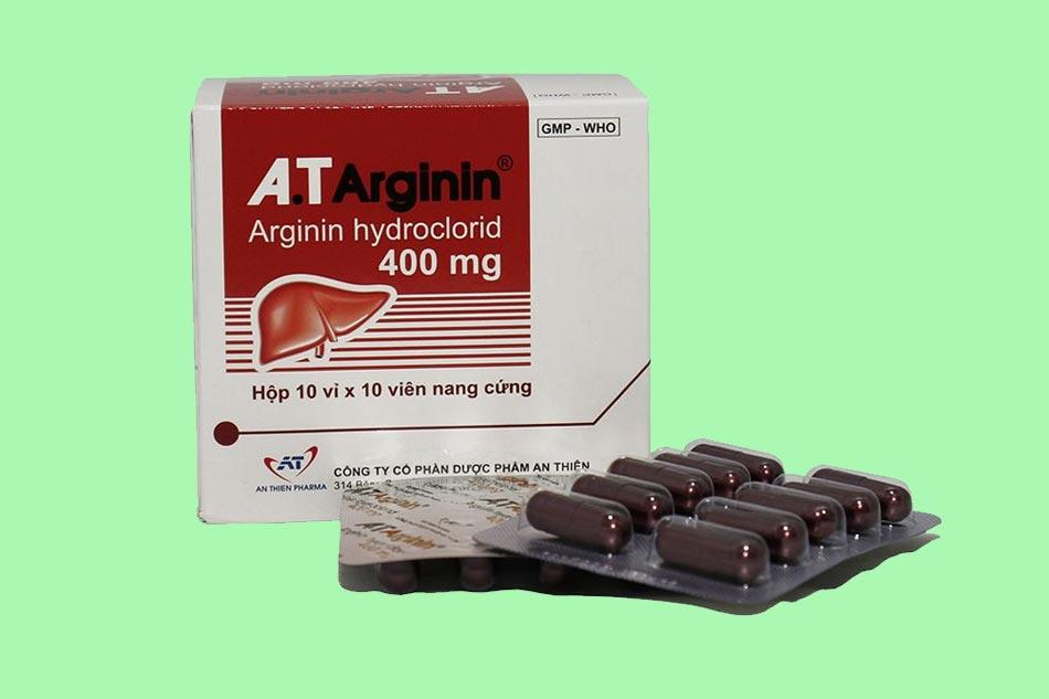 Thuốc A.T ARGININ 400mg là gì?