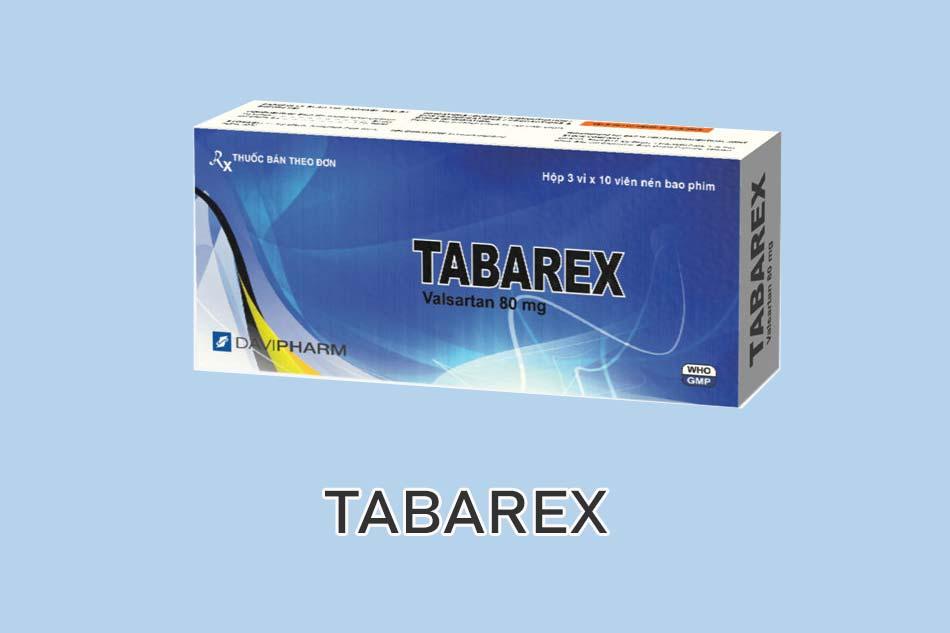 Thuốc TABAREX là gì?