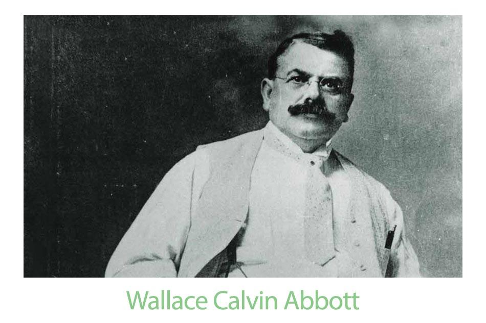 Wallace Calvin Abbott đã thành lập công ty và lấy tên ông để đặt cho nó