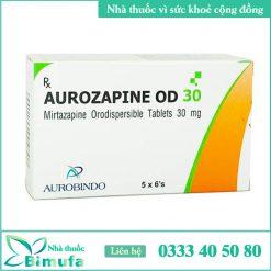 Hình ảnh thuốc Aurozapine 30mg