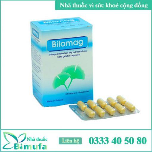 Hình ảnh thuốc Bilomag80mg