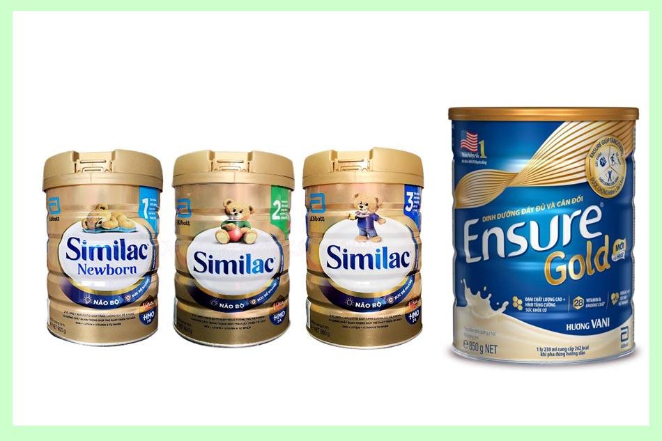 Hình ảnh sữa bột Abbott
